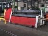 Hydraulická čtyřválcová zakružovačka plechu