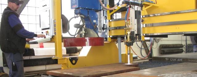 CNC autogenní řezací stroj